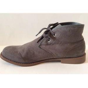 Gap Men Suede Chukka Boots Size 9 Gray Northwood